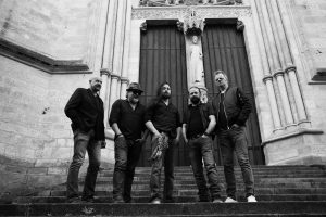 LZ-129 Led Zeppelin Tribute official Photo at the Cathedral Notre Dame in Amiens